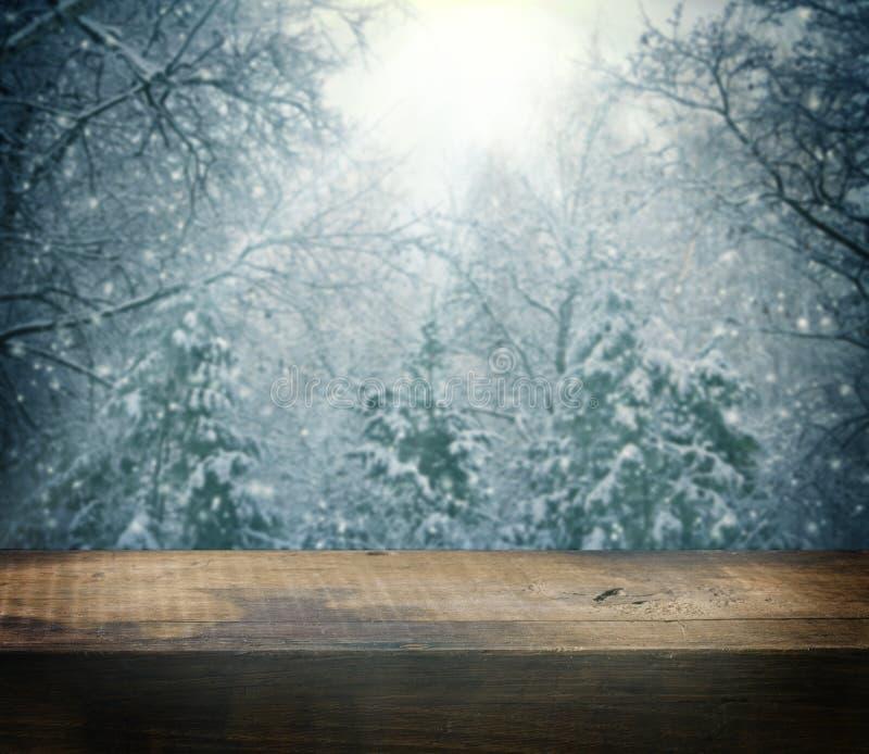 Fundo bonito do Natal do inverno fotos de stock