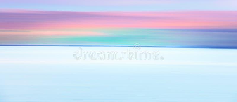 Fundo borrado abstrato do céu da zona do crepúsculo foto de stock royalty free