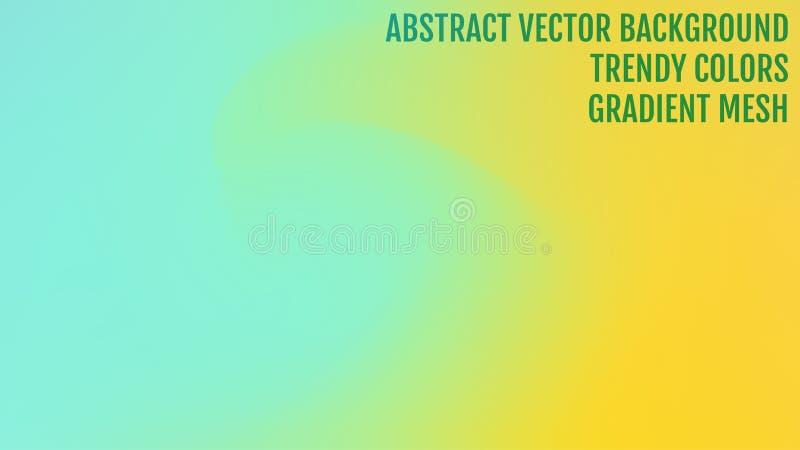 Fundo borrado abstrato do inclinação com luz Contexto moderno da natureza Conceito para seu projeto gráfico, bandeira da ecologia ilustração stock