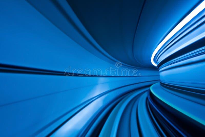 Fundo borrado azul abstrato