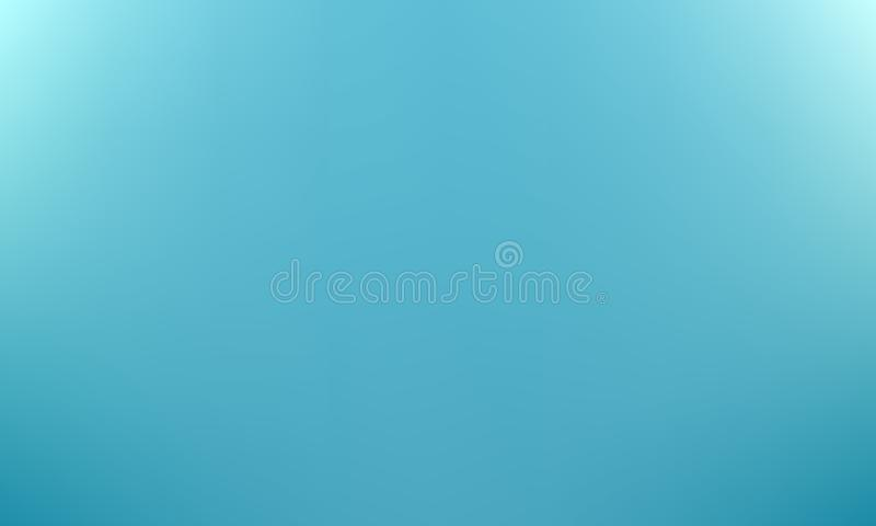 Fundo borrado azul do inclinação Vetor ilustração royalty free