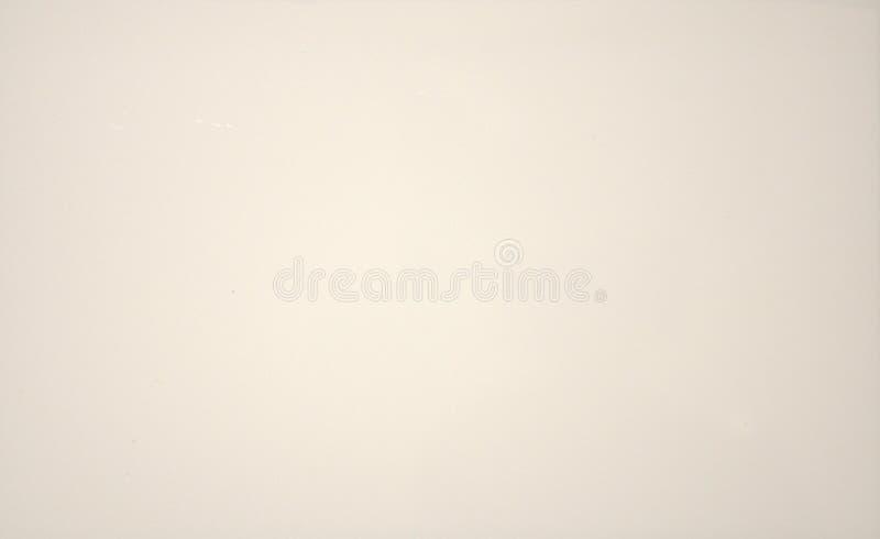 Fundo borrado branco da cor sólida Textura, inclinação, vignetting, close-up foto de stock royalty free