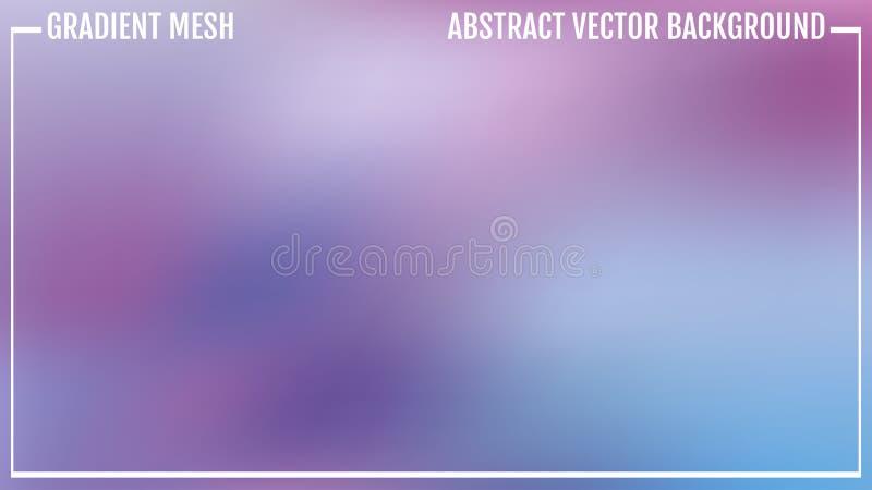 Fundo borrado colorido do conceito criativo abstrato Para aplicações da Web e do móbil, ilustração da arte, projeto do molde, ilustração do vetor