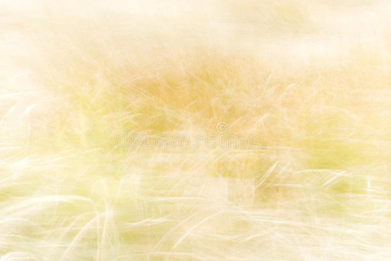 Fundo borrado - contexto abstrato da natureza - paisagem macia do prado imagem de stock royalty free