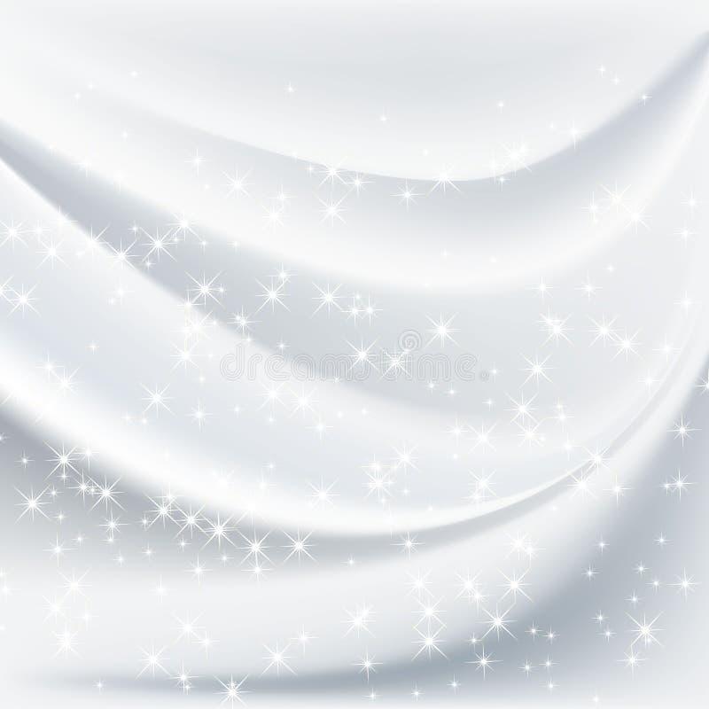 Fundo branco abstrato ilustração royalty free