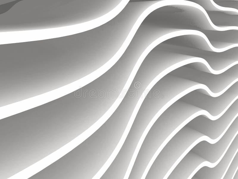 Fundo branco abstrato com espaço da cópia para o texto ilustração royalty free