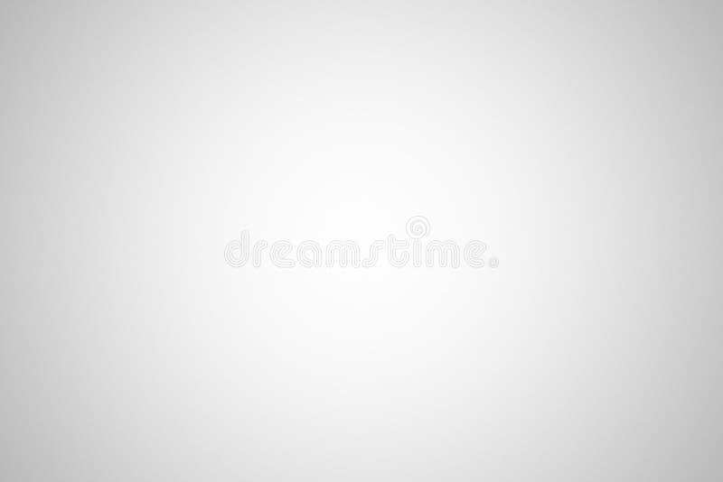 Fundo branco abstrato com vinheta, ilustração 3d ilustração do vetor