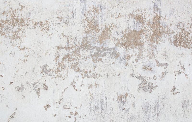 Fundo branco da parede de tijolo do grunge fotografia de stock royalty free