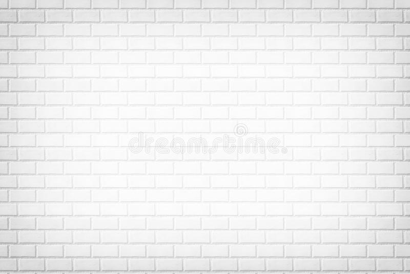 Fundo branco da parede de tijolo, textura de pedra ilustração do vetor