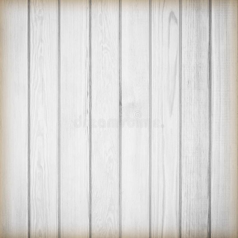 Fundo branco da textura da prancha de madeira do pinho fotos de stock