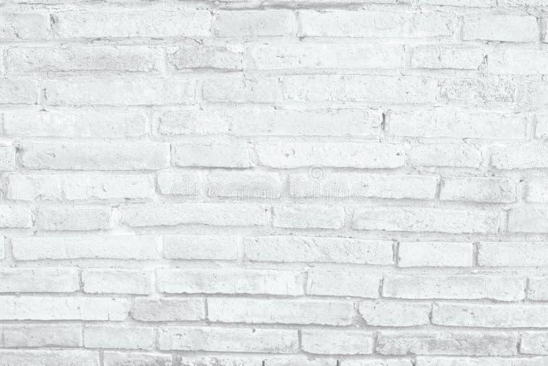 Fundo branco da textura da parede de tijolo fotos de stock