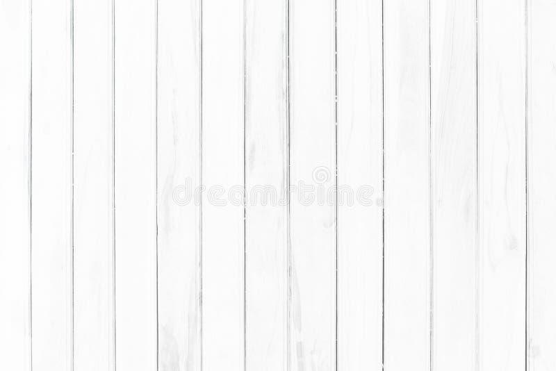 Fundo branco da textura da prancha de madeira a parede de madeira toda a mob?lia de rachamento da antiguidade pintada resistiu ao fotos de stock