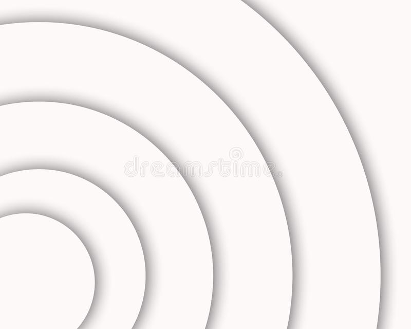 Fundo branco e cinzento do inclinação da cor, moderno e elegante ilustração stock