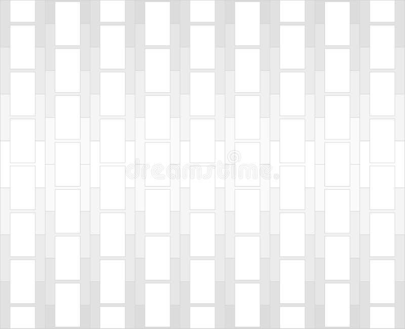 Fundo branco e cinzento do teste padrão do alfabeto de H ilustração royalty free