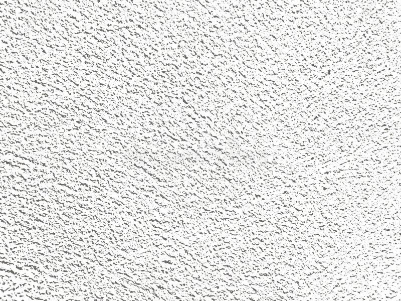 Fundo branco e preto do Grunge, textura ilustração do vetor