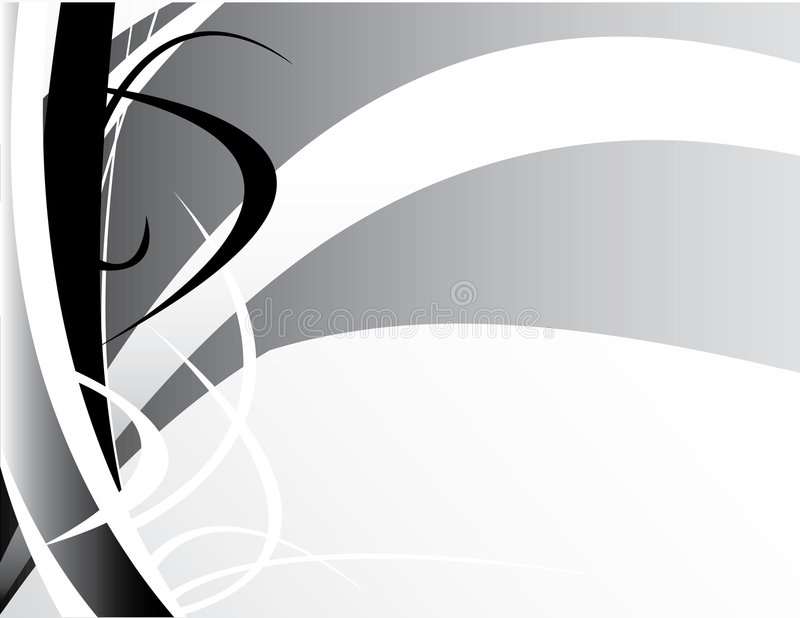 Fundo branco preto cinzento ilustração royalty free