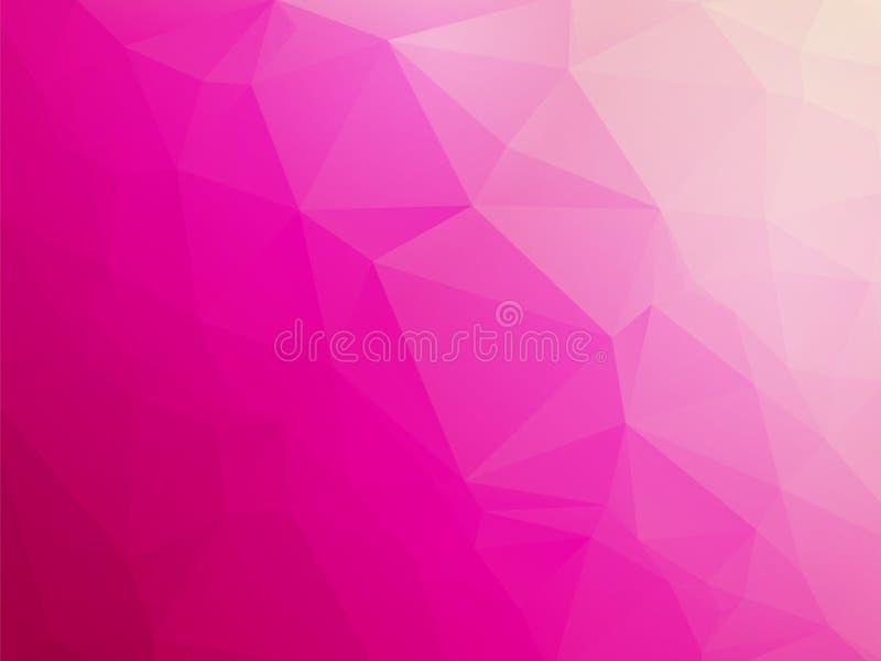 Fundo branco violeta cor-de-rosa do amor ilustração do vetor
