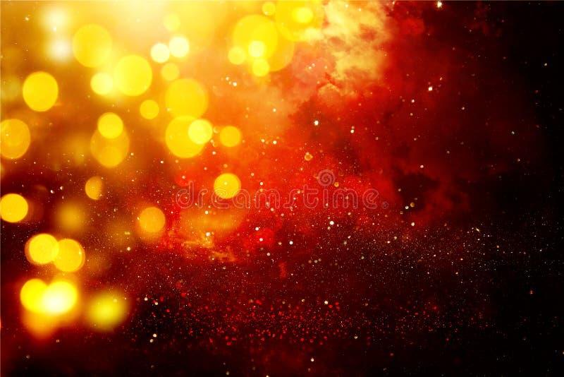 Fundo brilhante da galáxia ou da fantasia Abstraia o estouro da luz conceito mágico e do mistério imagens de stock royalty free