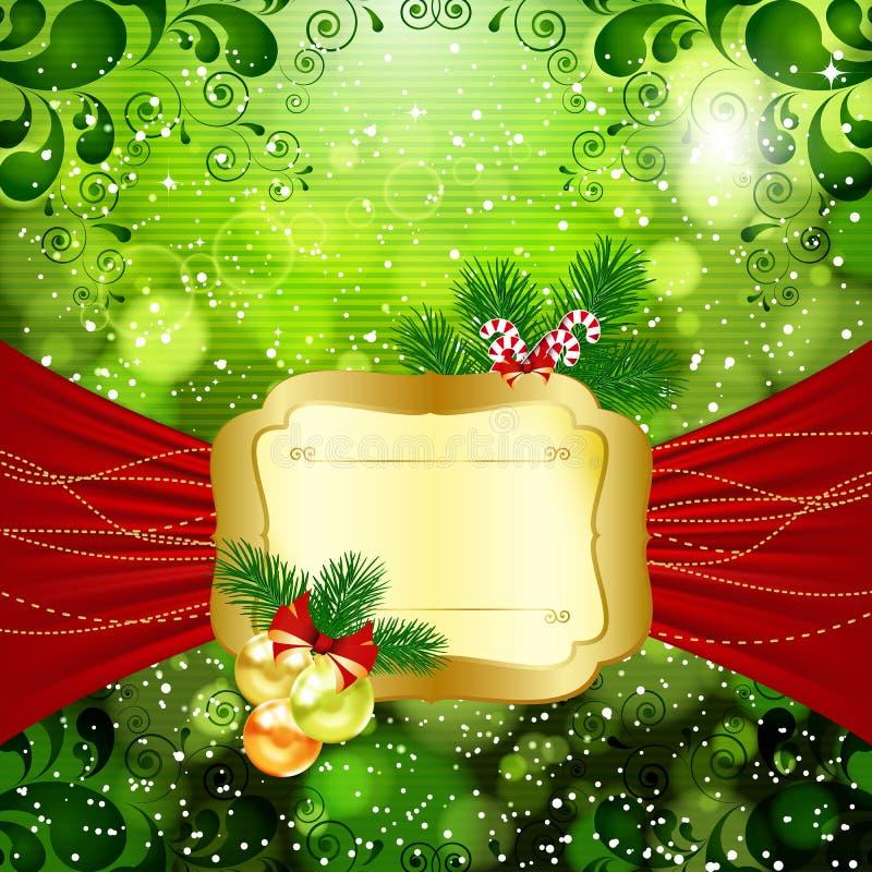 Fundo brilhante do Natal ilustração stock