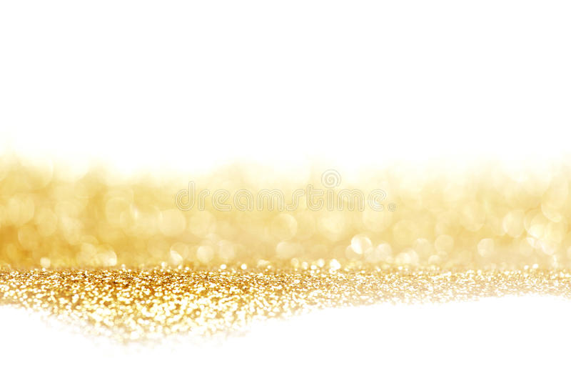 Fundo brilhante dourado abstrato imagens de stock