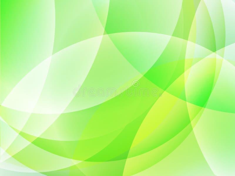 Fundo brilhante verde abstrato ilustração stock
