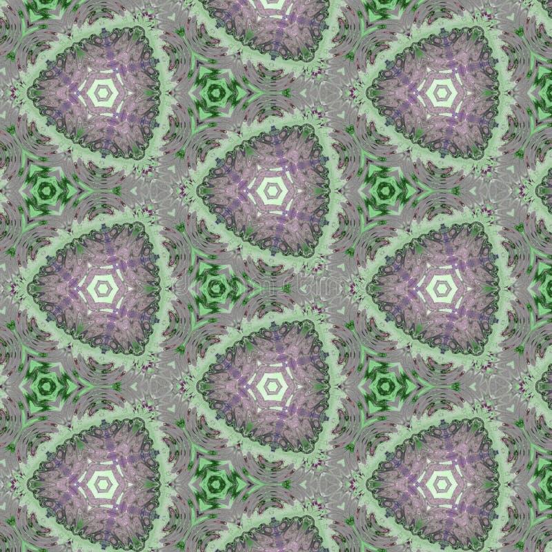 Fundo calidoscópico abstrato como o teste padrão sem emenda infinito ilustração stock