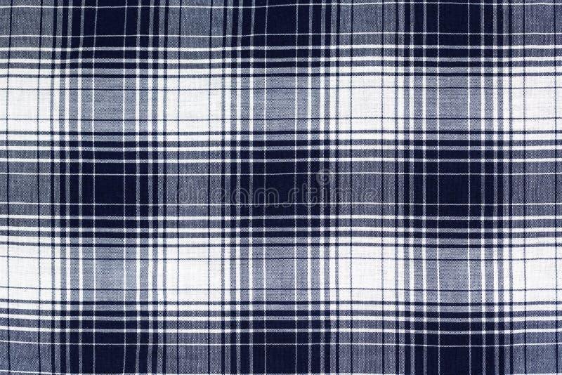 Fundo checkered azul fotografia de stock