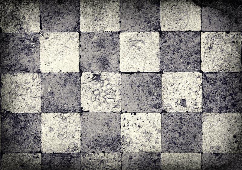 Fundo Checkered de Grunge ilustração stock