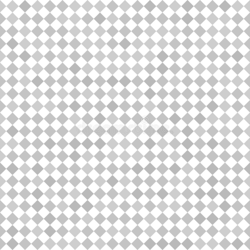 Fundo Checkered Diamond Pattern Vetor sem emenda ilustração do vetor