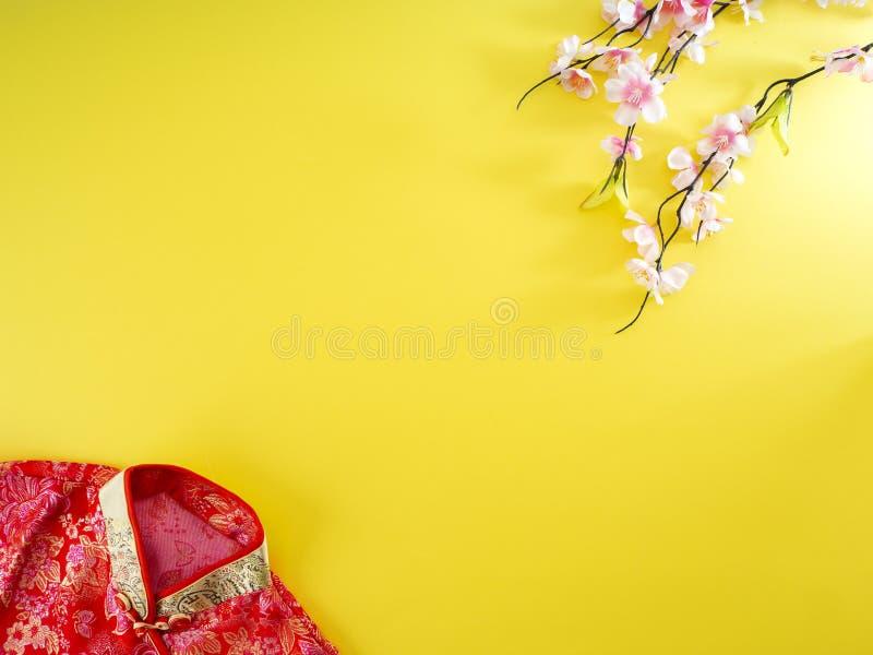 Fundo chinês da bandeira do ano novo fotografia de stock