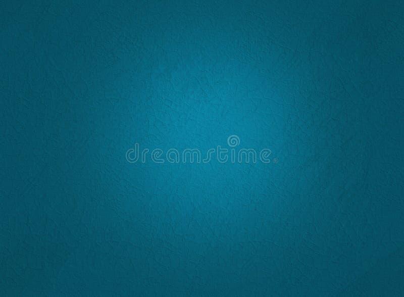 Fundo ciano da textura da parede Arte da ilustração de Digitas ilustração stock
