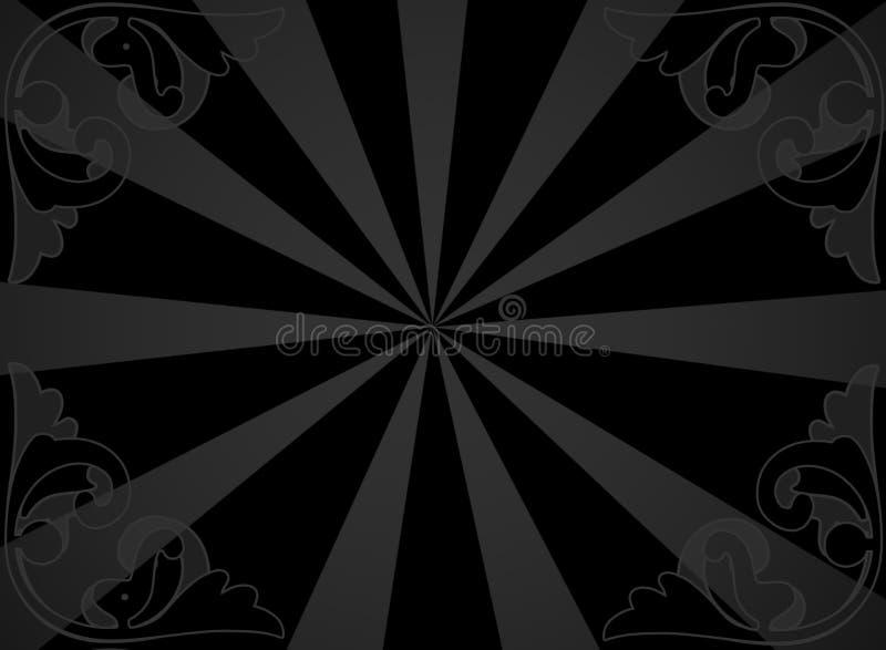 Fundo cinzento ilustração do vetor
