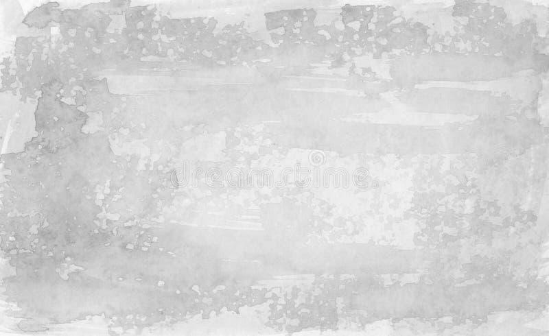 Fundo cinzento - aguarelas ilustração do vetor