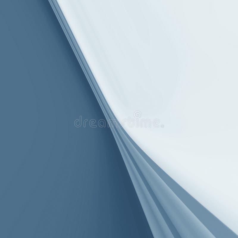 Fundo cinzento com drapery ilustração stock