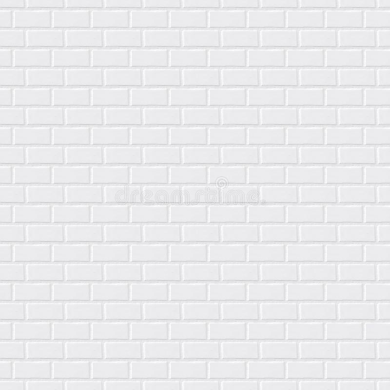 Fundo cinzento da parede de tijolo, textura sem emenda, construção, luz, tijolo, material natural, alvenaria ilustração do vetor