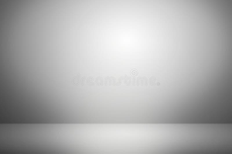 fundo cinzento do estúdio do borrão abstrato fotos de stock