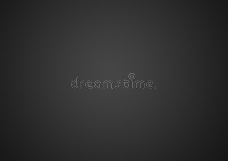 Fundo cinzento ou preto liso do inclinação ilustração do vetor