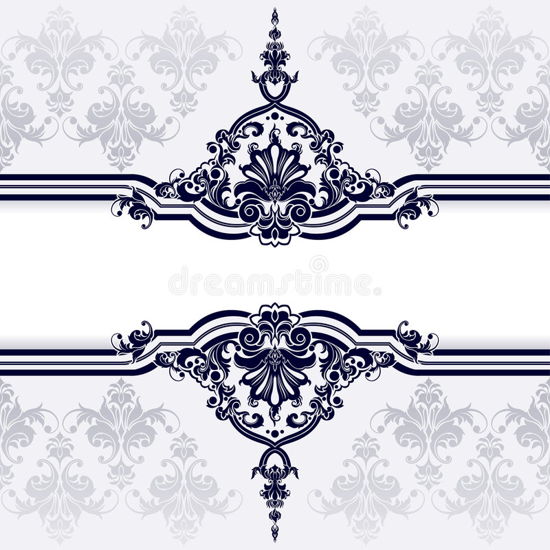 Fundo clássico da decoração e do papel de parede