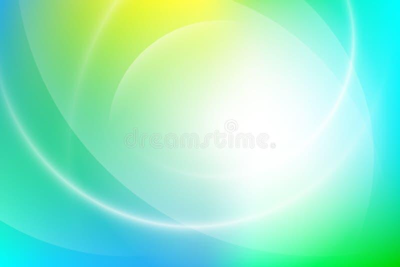 Fundo claro colorido do inclinação ilustração do vetor