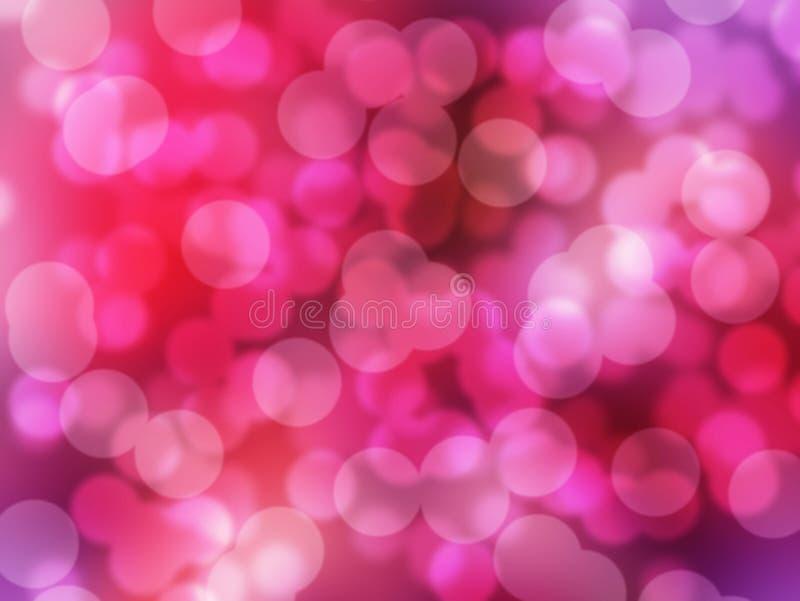 Fundo claro cor-de-rosa, vermelho e roxo abstrato ilustração do vetor