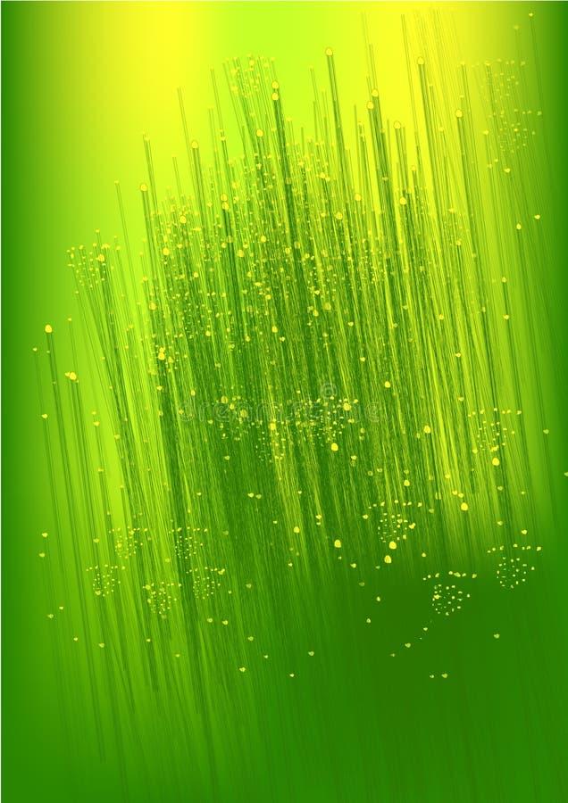 Fundo claro do xmas do verde abstrato ilustração royalty free