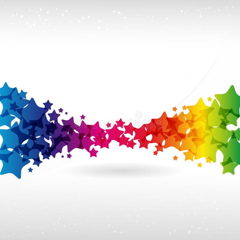 Fundo colorido abstrato. ilustração stock