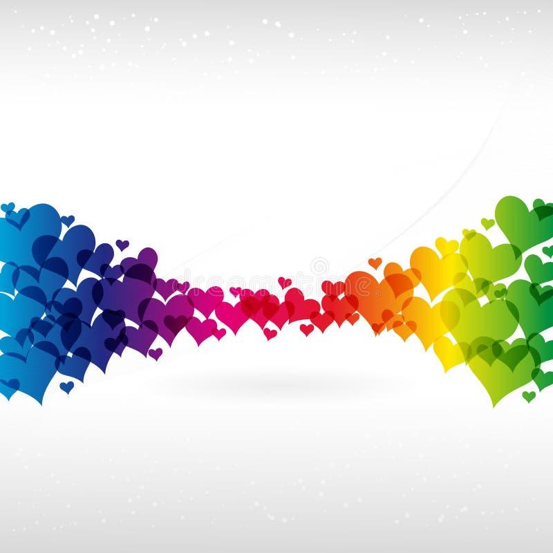 Fundo colorido abstrato. ilustração do vetor