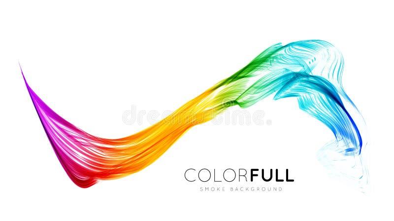 Fundo colorido abstrato ilustração royalty free