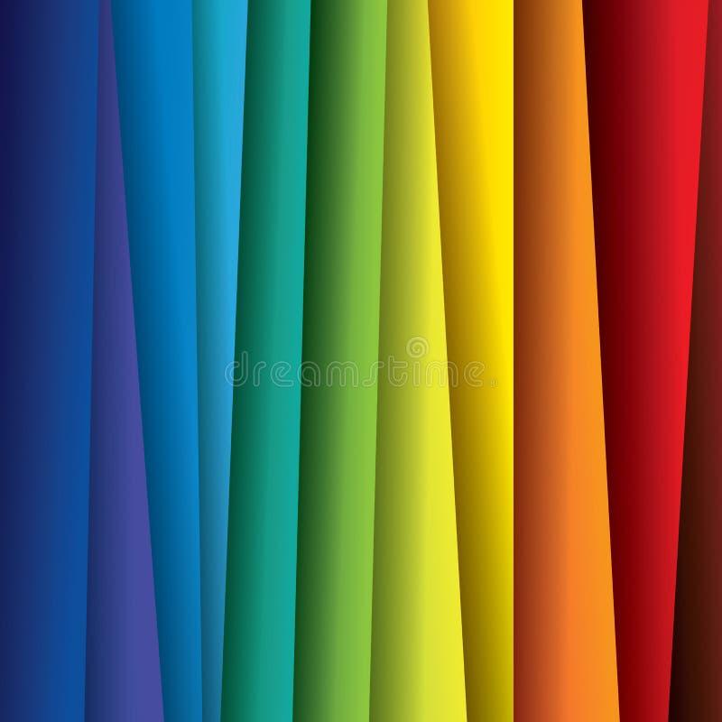 Fundo colorido abstrato do papel ou das folhas (contexto) ilustração stock