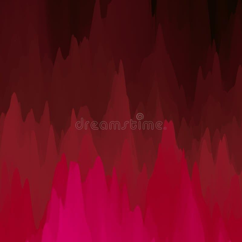 Fundo colorido abstrato do vetor Cores de fluxo claras ilustração royalty free