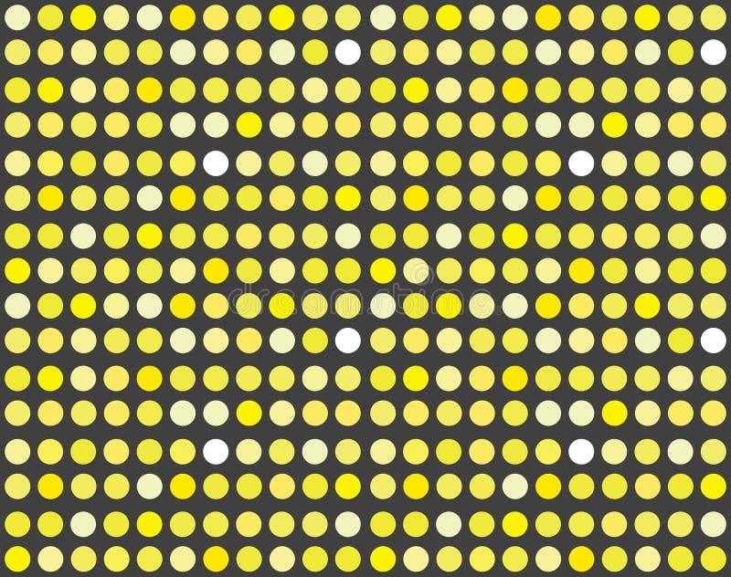 Fundo colorido abstrato do vetor no estilo do disco ilustração stock