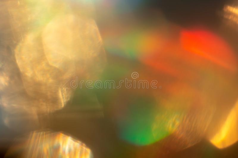 Fundo colorido abstrato multicolorido, efeito de luz incomum imagem de stock