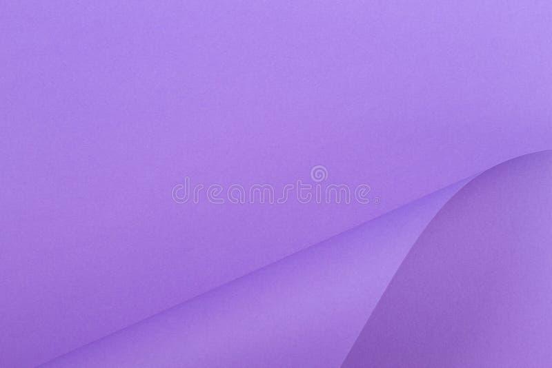 Fundo colorido abstrato Papel roxo violeta da cor em formas geométricas foto de stock