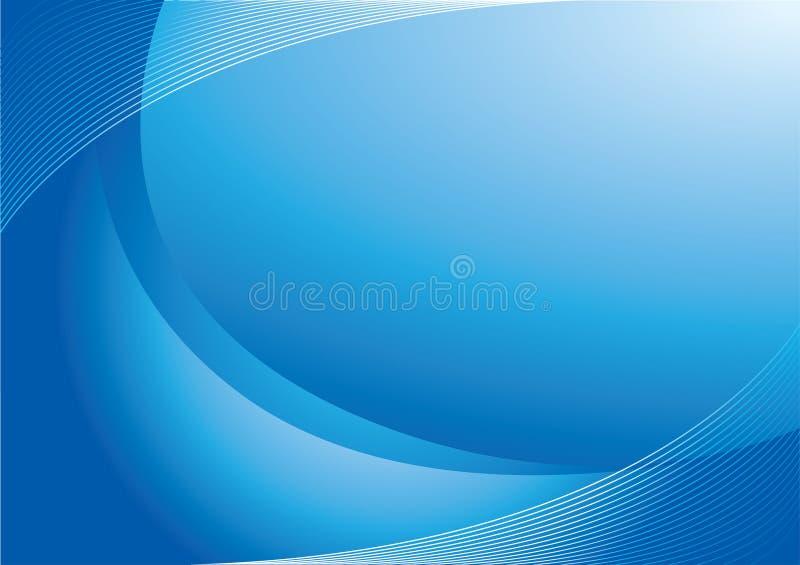 Fundo colorido azul ilustração stock